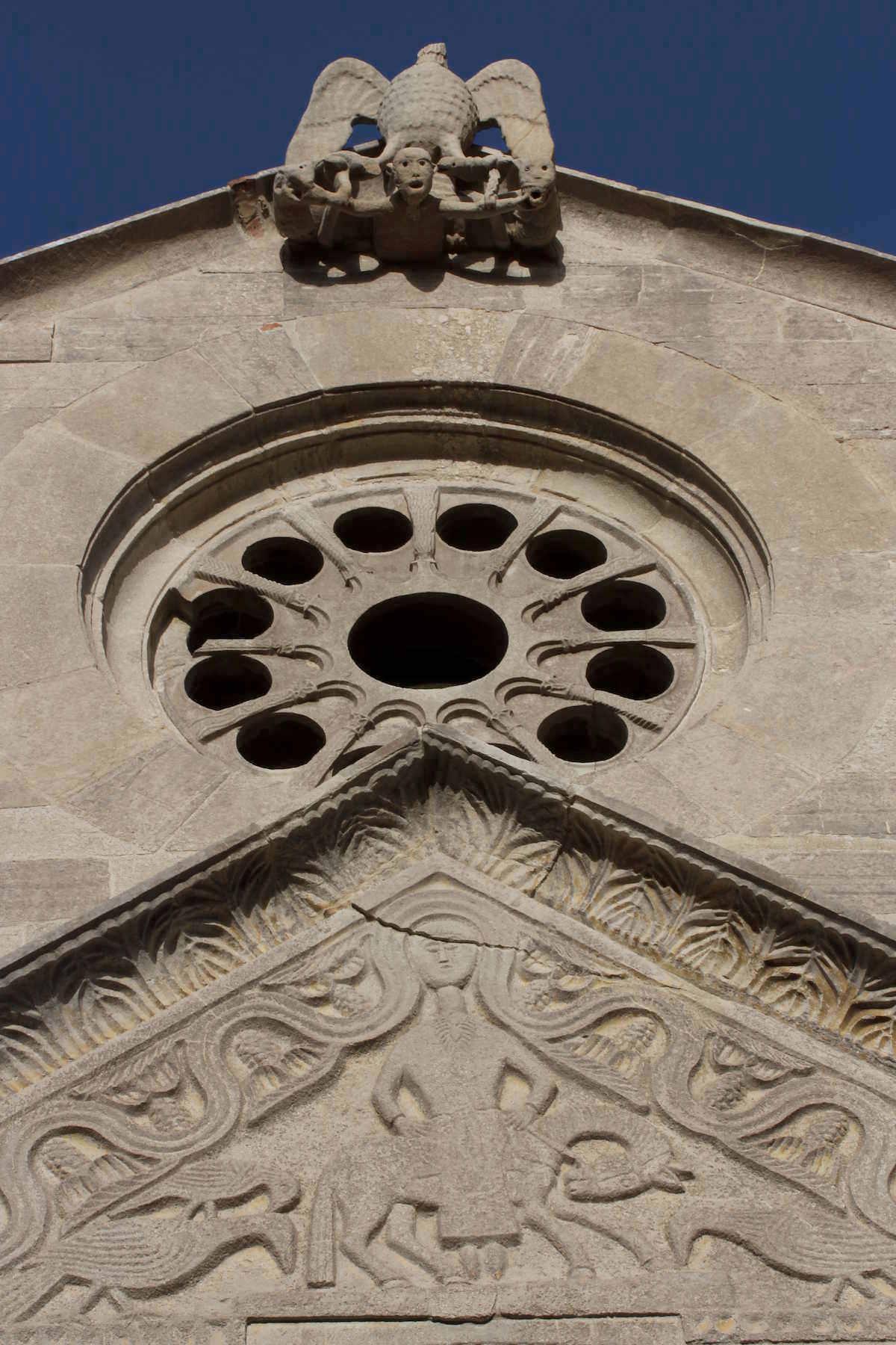 santa maria della strada matrice facciata