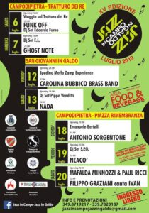 jazz in campo jazz in galdo molise 2019