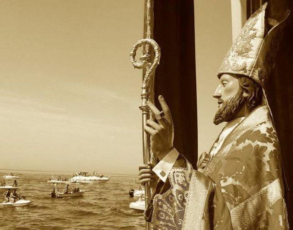 La processione 'a mare' di San Basso a Termoli