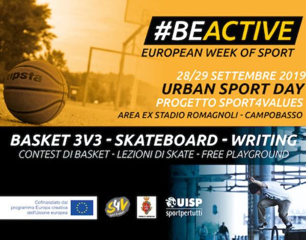 Urban Sport Day 2019 a Campobasso
