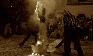 Antiche maschere carnevalesche in Molise: l'uomo-cervo di Castelnuovo a Volturno