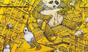 'Pandemia', il capolavoro di Blu a Campobasso