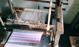 L'antica arte molisana della tessitura